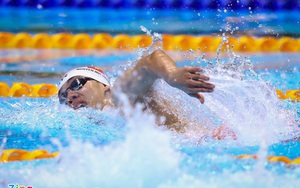 Video: Màn nước rút kinh ngạc của kình ngư Nguyễn Huy Hoàng cự ly 800m tự do Olympic Tokyo