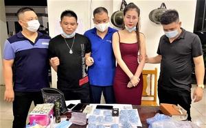 Cô gái bị bắt khi đang giao dịch 1.500 viên thuốc lắc trong đêm