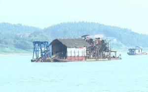 Phú Thọ: Xử phạt một cá nhân 657 triệu đồng do khai thác cát trái phép