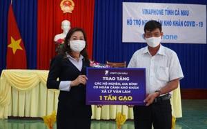 VNPT Cà Mau chung tay chống dịch Covid-19