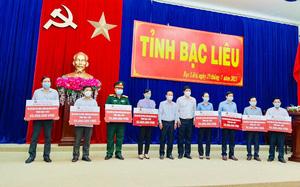 Agribank Chi nhánh Bạc Liêu ủng hộ 400 triệu đồng cho công tác phòng, chống Covid-19