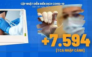 Diễn biến dịch Covid-19 ngày 29/7: Chủ tịch nước cảm ơn Hoa Kỳ đã hỗ trợ Việt Nam số lượng lớn vaccine phòng Covid-19