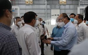Chủ tịch nước Nguyễn Xuân Phúc yêu cầu Bình Dương sớm đưa bệnh viện dã chiến 5.000 giường vào hoạt động