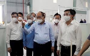 Chủ tịch nước Nguyễn Xuân Phúc: Cần phát huy vai trò của Tổ Covid-19 cộng đồng, giảm tải cho đội ngũ y tế