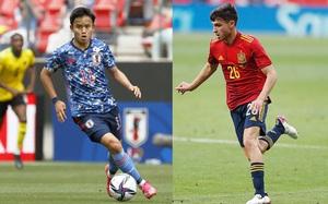 """Bán kết bóng đá nam Olympic Tokyo 2020: Pedri so tài với """"Messi Nhật Bản"""""""