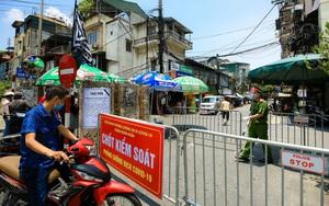 Ảnh: Khẩn cấp phong toả cách ly tế phường Chương Dương, Hà Nội