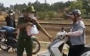 Đe dọa cán bộ chốt kiểm dịch, người phụ nữ bị xử phạt