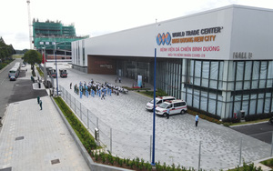 Hơn 100 bệnh nhân Covid-19 tại Bệnh viện dã chiến số 1 Bình Dương được xuất viện