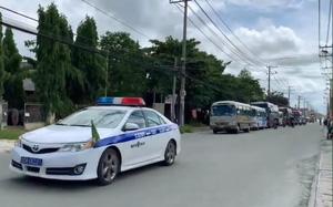 Đồng Nai: Hỗ trợ ô tô, lực lượng y tế đưa 2.000 công nhân về quê