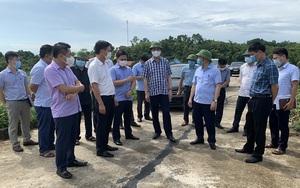 Thanh Hoá: PCT UBND tỉnh Lê Đức Giang yêu cầu khắc phục sự cố nứt mặt đê sông Bưởi trước 15/7