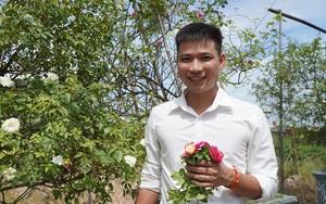 """Nông dân 9X trồng hoa hồng ngoại thu nhập nghìn """"đô"""""""