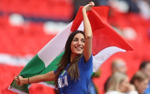 """Những hình ảnh cuồng nhiệt của CĐV Italia trước trận """"thư hùng"""" gặp Tây Ban Nha"""