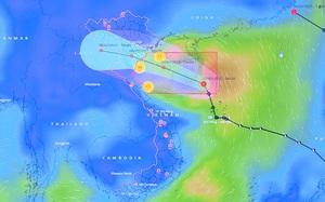 Áp thấp nhiệt đới sẽ gây mưa lớn ở Bắc Bộ và Bắc Trung Bộ, nguy cơ ngập úng, sạt lở cao