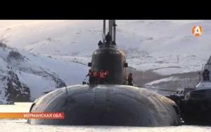 Bị sốc khi nhìn thấy tàu ngầm hạt nhân của Nga
