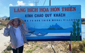 Ninh Thuận: Xứ đạo Hòn Thiên từ nơi đìu hiu cô tịch bỗng trở thành chốn đẹp như phim với đường tranh bích họa