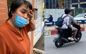 """Nam sinh Hà Nội gào khóc vì đến điểm thi tốt nghiệp THPT muộn: """"Con mất hết rồi!"""""""