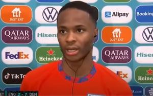 """Raheem Sterling trả lời báo chí sau trận đấu: """"Đó là một quả phạt đền rõ ràng"""""""