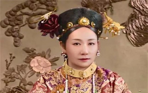 """""""Bức ảnh chân thực"""" của Từ Hi Thái hậu: Có phải mỹ nhân?"""