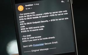 Vụ Bkav bị xâm nhập: Hacker nói sẽ livestream tấn công Bkav vào ngày 18/8