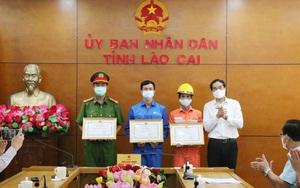 Lào Cai: Khen thưởng tập thể, cá nhân tham gia chữa cháy tại Sa Pa