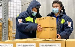 TP.HCM nhận bàn giao 1,1 triệu liều vaccine AstraZeneca