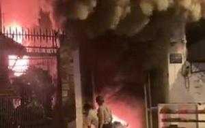 Clip: Cháy lớn tại một công ty chuyên về âm thanh, ánh sáng ở Đắk Lắk