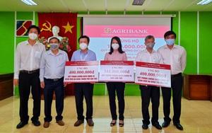 Agribank Chi nhánh Cần Thơ và Cần Thơ II ủng hộ 1,5 tỷ đồng Quỹ phòng, chống dịch Covid-19