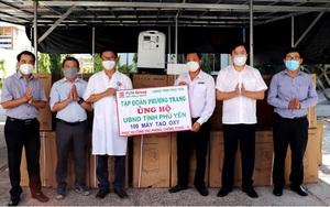Tập đoàn Phương Trang tặng tỉnh Phú Yên 100 máy tạo oxy điều trị Covid-19