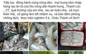 Kiên Giang: Cán bộ Hội giúp nông dân tiêu thụ nông sản qua Zalo, Facebook