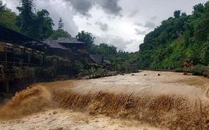 Cảnh báo lũ quét và sạt lở đất tại trung du và miền núi Bắc Bộ