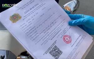TP.HCM: Áp dụng mẫu giấy đi đường mới, nhiều chốt linh động cho người có giấy cũ