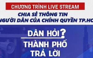 """Nghệ sĩ Quyền Linh đảm nhiệm vai chính trong Chương trình trực tuyến """"Dân hỏi – Thành phố trả lời"""" của TP. HCM"""