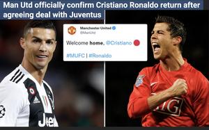 """""""Cú quay xe của Ronaldo"""" đưa cổ phiếu Man United """"lên mây"""""""