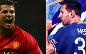 """Trang chủ M.U sập trong """"1 nốt nhạc"""", Ronaldo cho Messi về nhì trên MXH"""