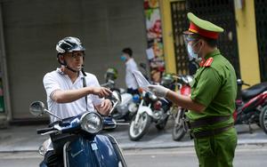 Làm giả giấy đi đường, tự ký tên giám đốc công ty để qua chốt ở Hà Nội