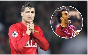 """Ronaldo và kỷ niệm tại M.U: Từng bị Van Nistelrooy """"tẩn"""" trên sân tập"""