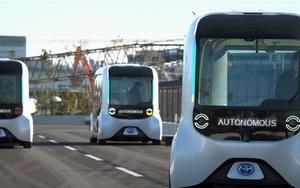 Xe buýt tự lái của Toyota gây biến lớn tại Thế vận hội Paralympic Tokyo 2020