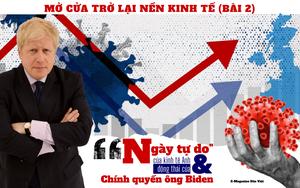 """Mở cửa trở lại nền kinh tế: """"Ngày tự do"""" của kinh tế Anh và động thái của Tổng thống Mỹ Biden (Bài 2)"""