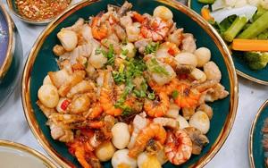 Món tôm rim thịt không cần tẩm ướp, chỉ dùng bát nước đặc biệt này là đủ