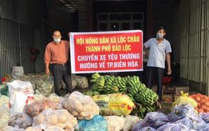 Covid-19 Lâm Đồng: Hội Nông dân tỉnh vận động, quyên góp 300 tấn rau sạch, 25 tấn gạo gửi tặng vùng dịch
