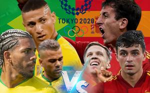 Nhận định, dự đoán tỷ số Olympic Brazil vs Olympic Tây Ban Nha: Bữa tiệc bàn thắng