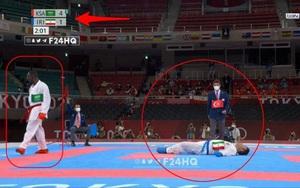 Võ sĩ đoạt HCV Olympic 2020 nhờ bị… đối thủ đá gãy cổ