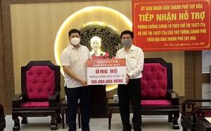 Agribank Phú Yên ủng hộ hơn 2,5 tỷ đồng cho công tác phòng chống dịch Covid-19