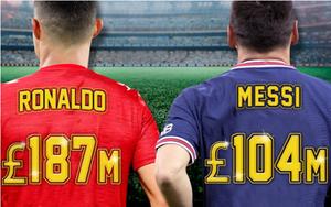 Choáng: Ronaldo lập kỷ lục bán áo đấu, bỏ xa Messi ở PSG