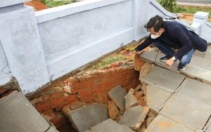 Đắk Lắk: Đài tưởng niệm liệt sĩ sụt lún, hư hỏng nghiêm trọng sau vài trận mưa