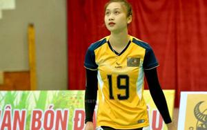 Hoa khôi bóng chuyền Hà Thị Thu Hiền: Libero có nụ cười tỏa nắng