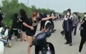 """Vụ nữ sinh Ninh Bình dùng gậy sắt, mũ bảo hiểm """"quyết chiến"""": Có khoảng 50 người tham gia"""