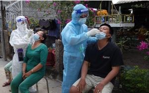 An Giang: Phát hiện chùm ca dương tính SARS-CoV-2 lớn, giãn cách theo Chỉ thị 16 một thị trấn