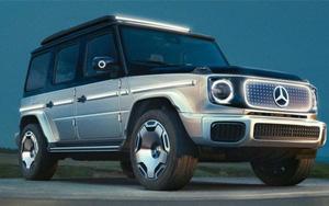 EQG - mẫu SUV chạy điện Mercedes-Benz G-Class