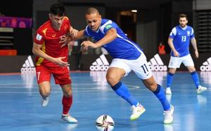 ĐT futsal Việt Nam đá phạt khiến Brazil ngỡ ngàng tại World Cup